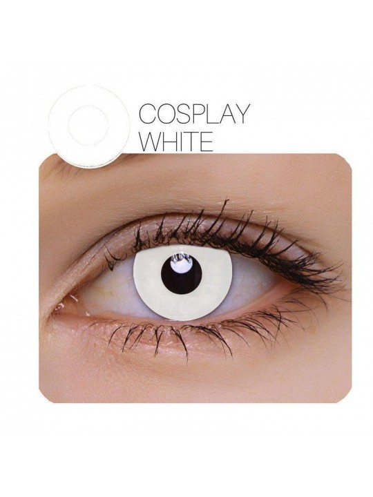 Annulus Cosplay White Yearly Colored Contacts