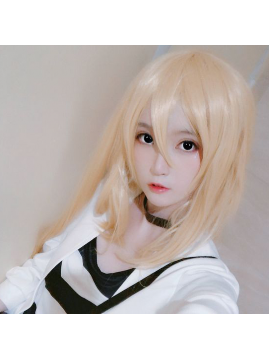 Annulus Cosplay Black Yearly Colored Contacts