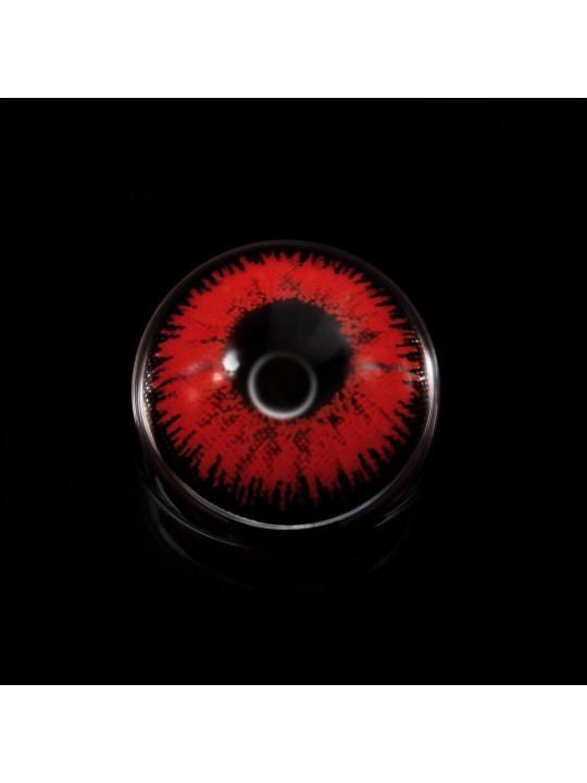 Mystery Red Prescription Yearly Colored Contacts